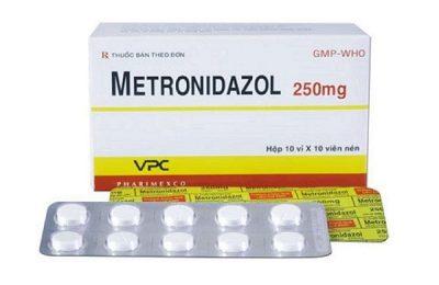 metronidazol 250mg có tác dụng gì