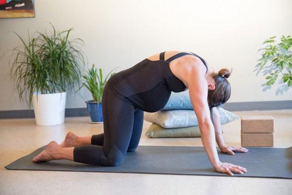 yoga chữa táo bón